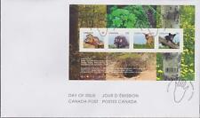Canada 2013 FDC #2602 Baby Wildlife Definitives