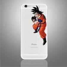 Apple iPhone 6/6s/7/8/X Goku decal sticker Dragonball Z art (NEW)