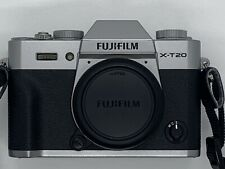 Fujifilm X-t20 Mirrorless Digital Camera With 16-50mm, 50-230mm, & Lens - Silver