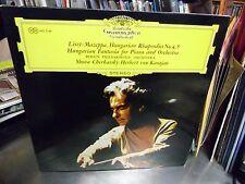 Herbert Von Karajan Shura Cherkassky piano Hungarian Japan Import LP DGG EX