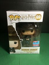 Hermione Granger W/Sorting Hat 2018 NYCC Harry Potter Funko Pop In Protector.