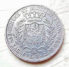 ITALIE  5 lire 1929  Gênes