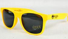 Bacardi Razz, Sonnenbrille UV 400 Kat.3, Partybrille, Malle, gelbe Ausführung