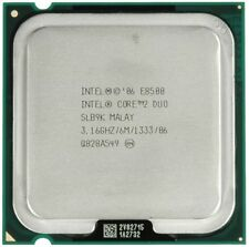 Intel Core 2 Duo E8500 SLB9K 3.16GHz/6Mb/1333MHz 775 Processore CPU Desktop p41