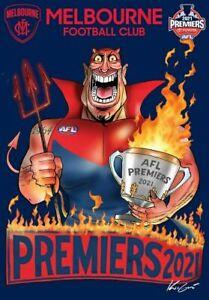 AFL Melbourne Demons 2021 Premiers Mark Knight Sticker