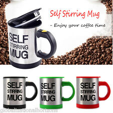 Self Stir Stiring Mug Coffee Cup Office Travel Tea Soup Blender Auto Mixing Gift