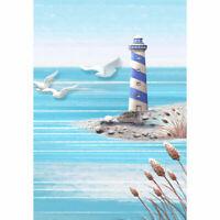 Blue Lighthouse Full Drill Diamond Painting 5D DIY Art Crafts Home Decor 30*40cm