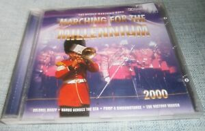 THE BRITISH MARCHING BAND MARCHING FOR THE MILLENNIUM CD ALBUM 2000 CEDAR GFS171
