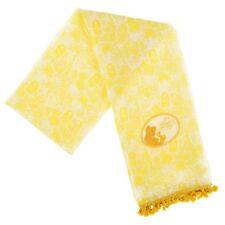 Disney Store Japan Princess Belle Crystal Beauty Beast Yellow Scarf Silhouette