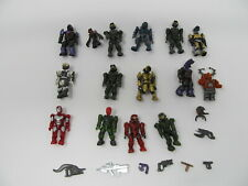 lot of  Mega Bloks Halo Minifig Spartan Grunts Minifigures  Weapons Lego