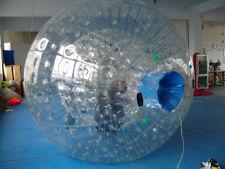 2.0*1.5M Inflatable Zorb Ball Zorbing Human Hamster Ball PVC1.0 MM  Blowers X1