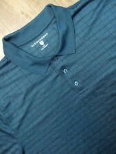 Saddlebred Polo Shirt Adult XLT Blue Golf Golfer Short Sleeve Rugby Casual Mens
