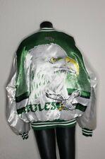 Vintage 90s Philadelphia Eagles Chalk Line Fanimation Jacket USA XL