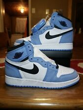 Air Jordan 1 Retro High OG University Blue (GS) size 4.5y / 6 WOMENS 575441-134