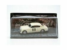 Voitures de rallye miniatures blancs Lancia