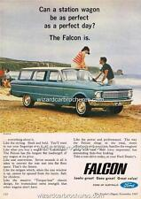 1965 FORD FALCON XP WAGON A3 POSTER AD SALES BROCHURE ADVERTISEMENT ADVERT