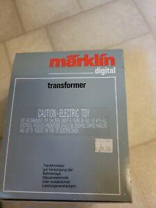 MARKLIN TRANSFORMER 6001  42 VA 120 VOLT DIGETAL 60 hz