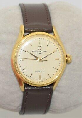 GIRARD-PERREGAUX Gyromatic Chronometer 18K GOLD 23-Jewel Automatic 1613 SVC'D
