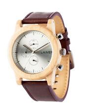 Laimer Orologio Peter Woodwatch Legno Di Sandalo Orologio In Legno Cronografo