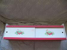 Vintage Strawberry Shortcake Furniture Display Shelf  & Sign SSC