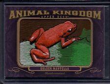 2012 Golden Mantella Frog Upper Deck Goodwin Champions Animal Kingdom Patch