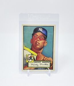 1952 TOPPS #311 MICKEY MANTLE NOVELTY RC NEW YORK YANKEES  MINT CARD *re print*