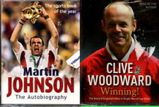 Audio book - Clive Woodward & Martin Johnson - Autobiographies  -  Cass  -  Abr