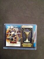 MICKIE JAMES 2020 TOPPS WWE ROAD TO WRESTLEMANIA BATTLE ROYAL TROPHY /50 BLUE