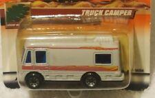 2000 Matchbox #61 Wilderness Adventure Series 13 Truck Camper White w/red strip
