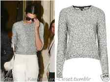 Topshop Celebrity Cosplay Space Dye Grey Speckle Jumper - Size 12