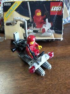 LEGO 6822 SPACE CLASSIC VINTAGE ANNI 80 +BOX + Istruzioni