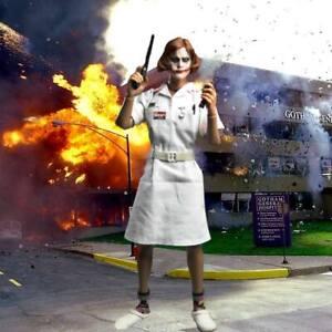 """1/6 Nurse Joker Backdrop 15""""X15"""" - For 1/6 Nurse Joker CGL"""