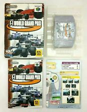 F-1 World grand prix - Jeu Nintendo 64 N64 - complet - JAP Japan