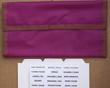 Purple Designer Trim Hannah Hansen Coupon Organizer