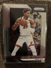 2018-19 Panini Prizm #196 Hassan Whiteside Miami Heat Basketball Card