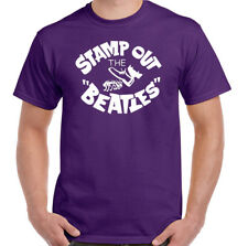 Stempel Out The Beatles T-Shirt Herren Lustige wie Getragen von George Harrison