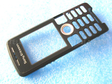 Sony Ericsson K510 Fascia Housing Cover Front Case Black Keypad without buttons
