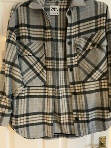 Zara Oversized Shirt Shacket