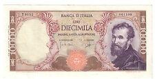 10000 lire michelangelo 27 07 1964 Q.spl RARO LOTTO 653