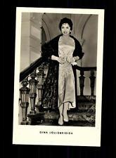 Gina Lollobrigida VEB Verlag Postkarte ## BC 97707