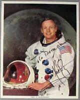 S1847) Apollo 11 Astronaut Neil Armstrong Nasa Photo Signed Autograph Autogramm