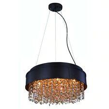 Elegant Lighting Regency 16-inch Round Pendant/Flush Mount Chandelier