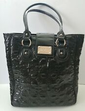 Floozie Frost French Large Black Patent Hand Bag Tote Bag - Debenhams