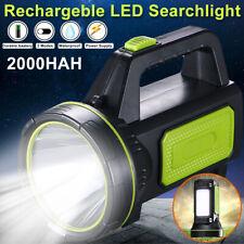 Super Bright Handheld Portable Searchlight LED Rechargeable Flashlight Spotlight