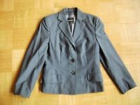 @Windsor@ Blazer Blue Gray Business Size M Gr. 38 B/F 40 I/E 42 GB 12
