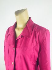 APPLESEED'S Size XL Ladies Jacket Button Front  Pink  (L)