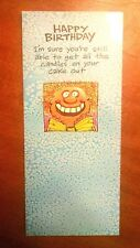 Happy Birthday Card Getting Older Adult Corn Patch Comix
