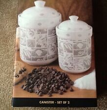Harley Davidson 1999 Canister Set New In Box