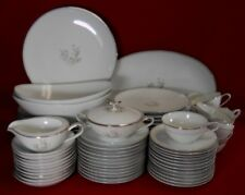 NORITAKE china ARDIS 5772 74-piece SET SERVICE for Twelve (less 2 dinner plates)