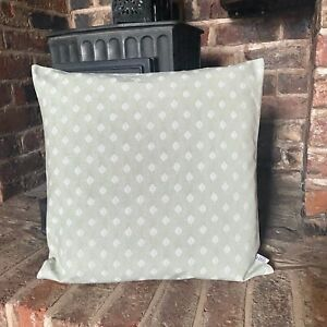 837. Handmade LEAVES ON GREEN Cotton Cushion Cover Various sizes